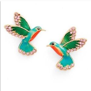 Kate Spade Scenic Route Hummingbird Earrings